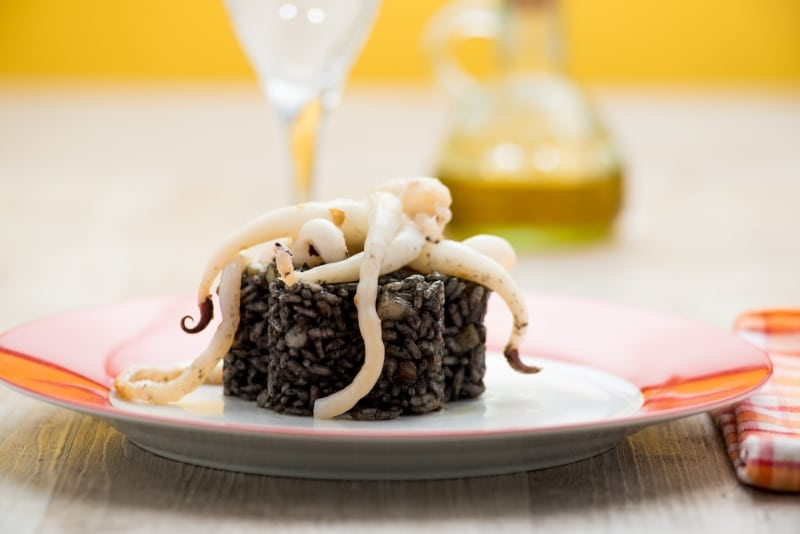 roadtrip culinaire europe cuisine dubrovnik croatie risotto au poulpe