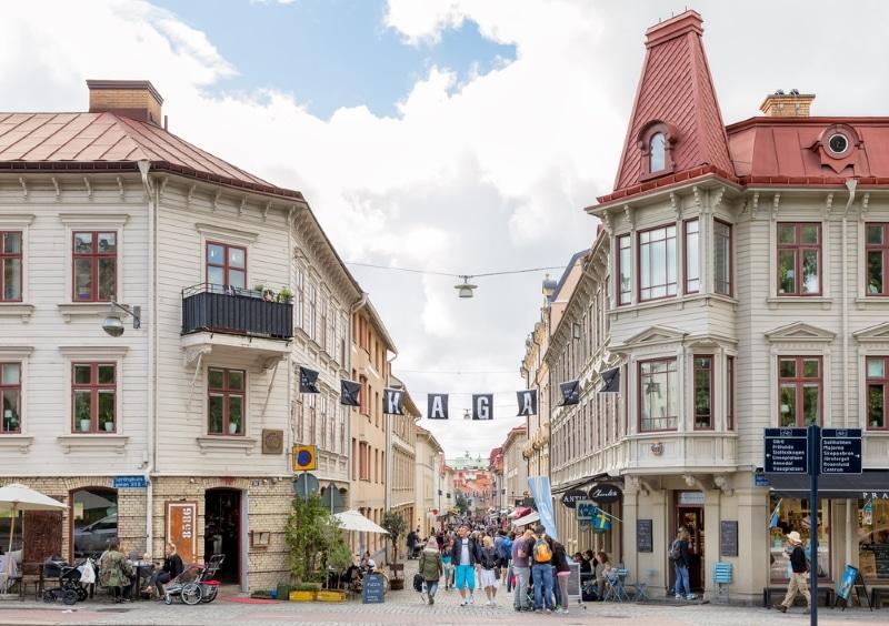 rues commercantes goteborg shopping