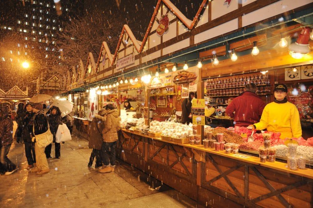 Marché de Noël de Sapporo