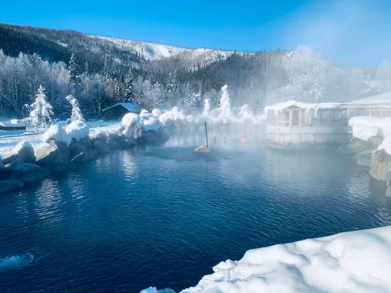 sources eaux chaudes alaska