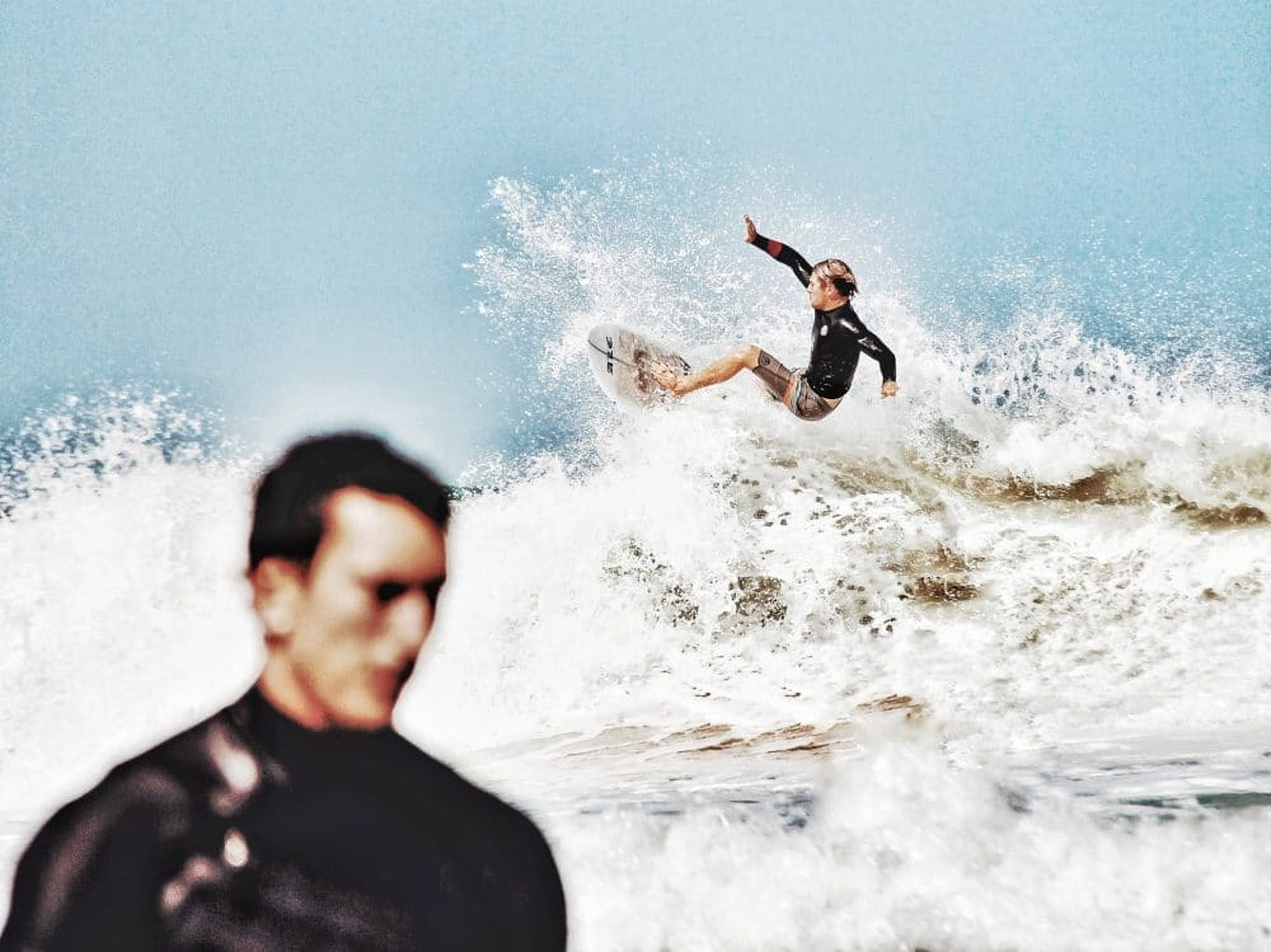 Où surfer en France, faire du surf en France