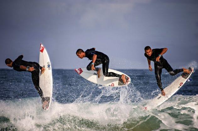 Les 10 meilleurs spots de surf à Lacanau