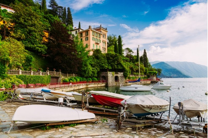 Stationner en Lombardie