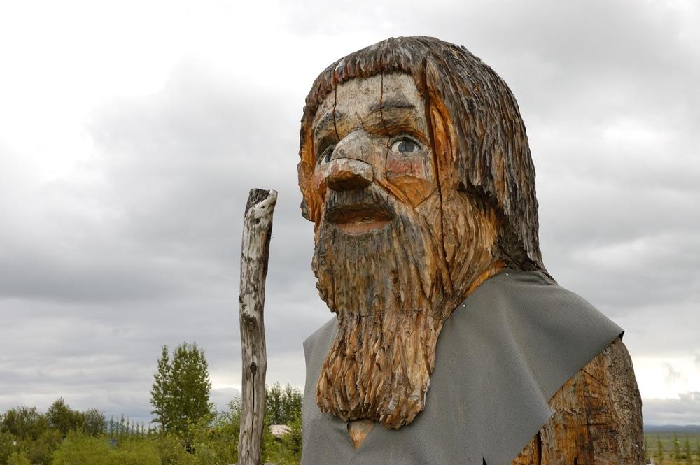 statue d'un elfe en islande