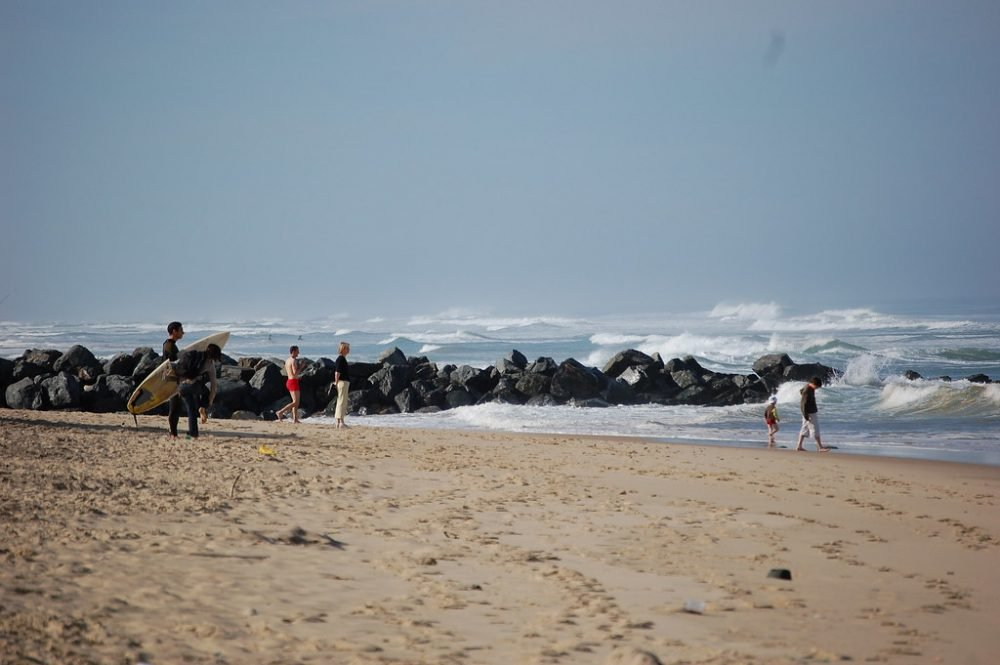 Lacanau, surf, vagues