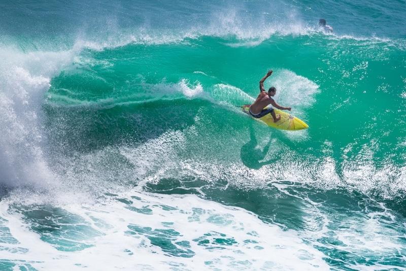surf plage hossegor nord