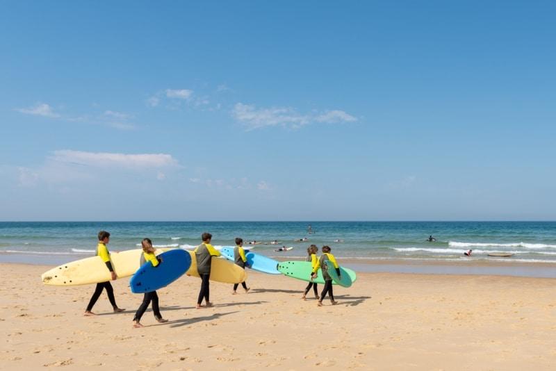faire du surf au cap ferret