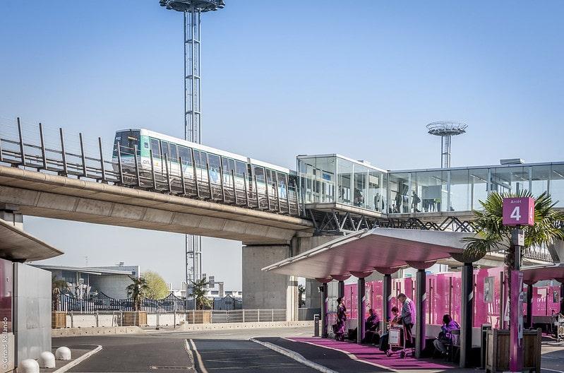 Train aéroport Orly