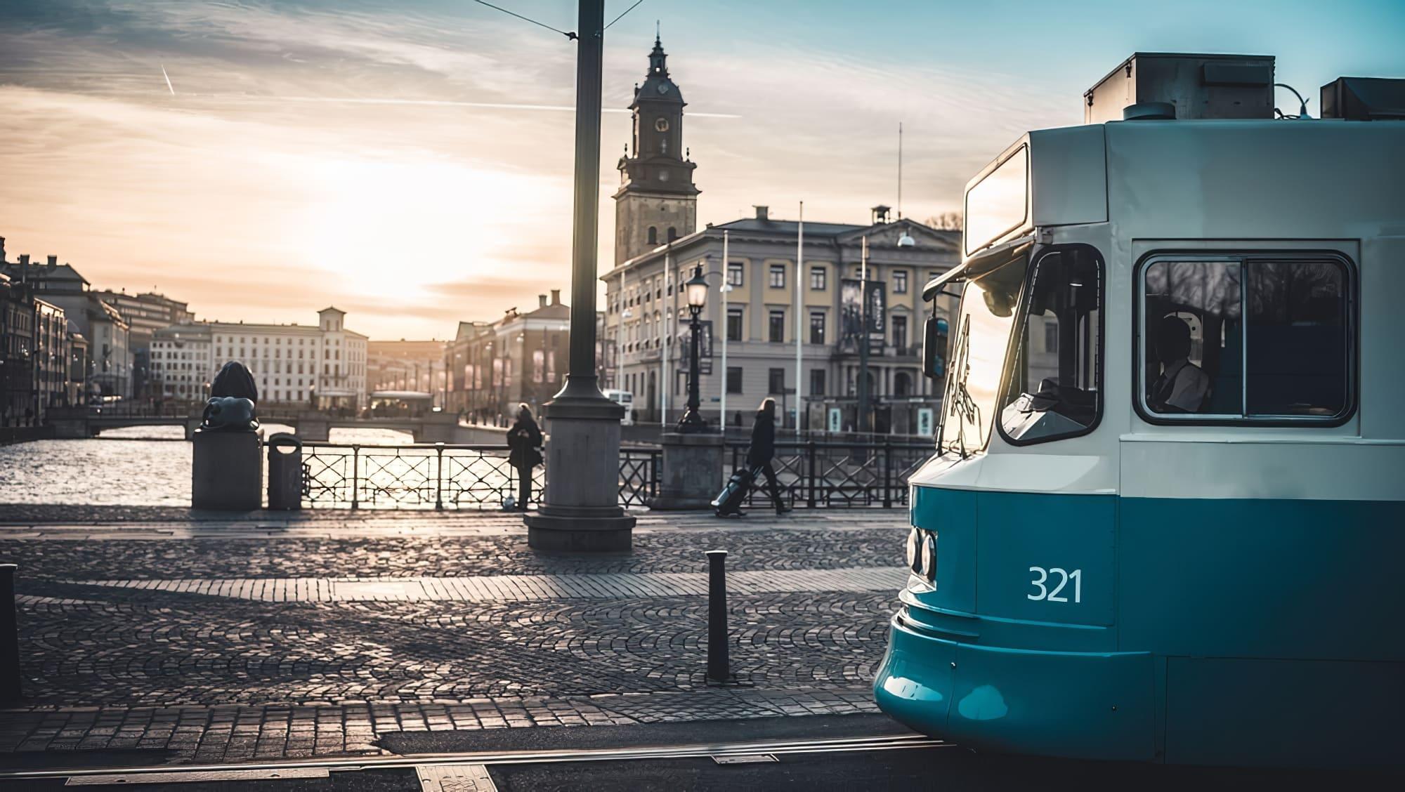 tram goteborg visiter suede