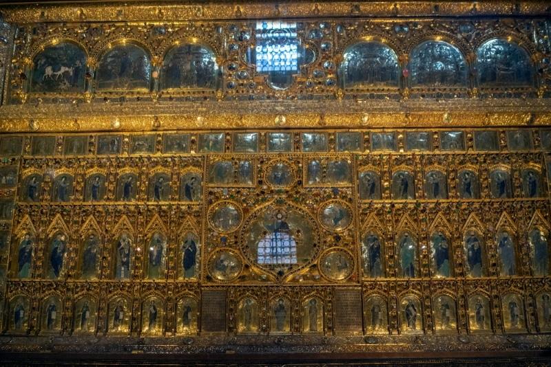 tresor interieur basilique venise