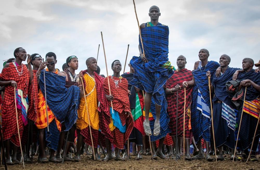 tribu maasai tanzanie