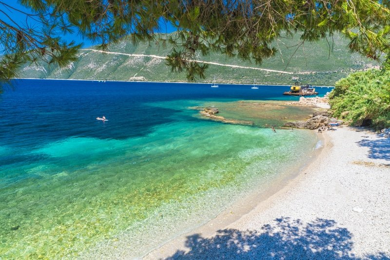 Vasiliki, plage, Lefkada