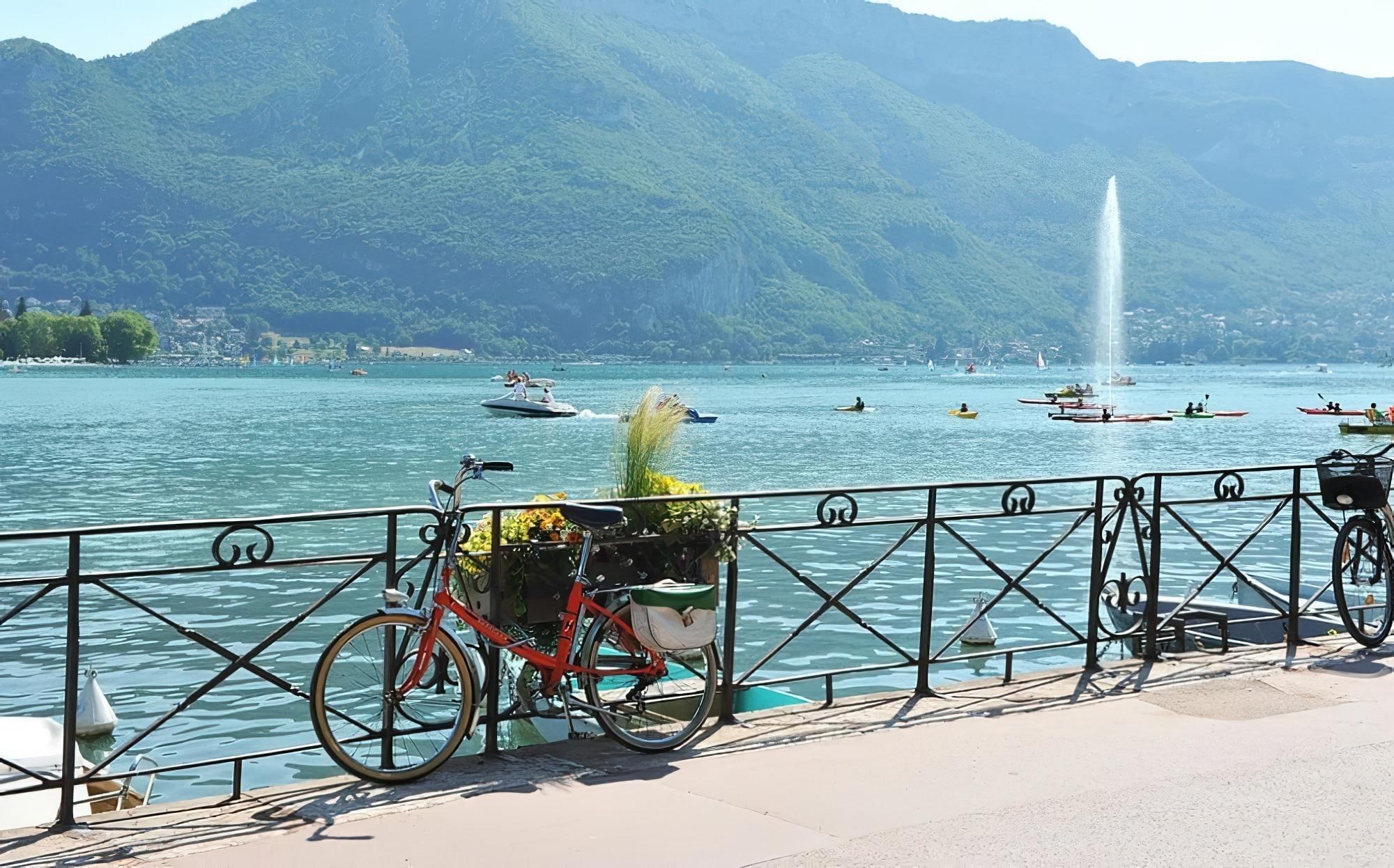 Vélo à Annecy