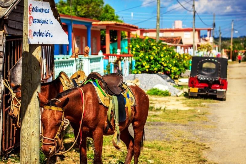 visiter cuba village chevaux