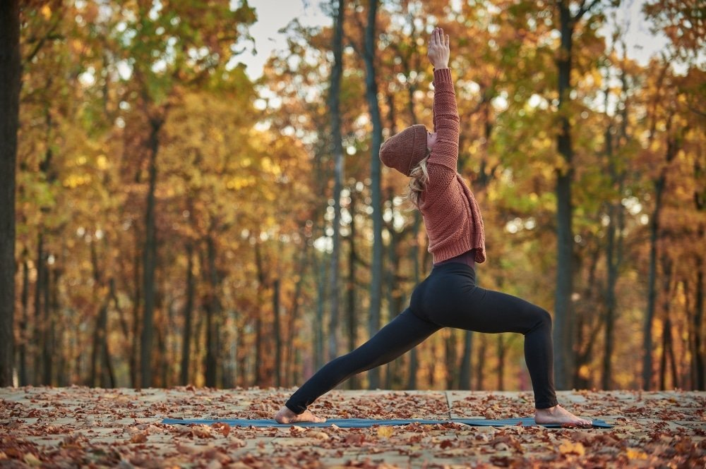 yoga en pleine foret region paris