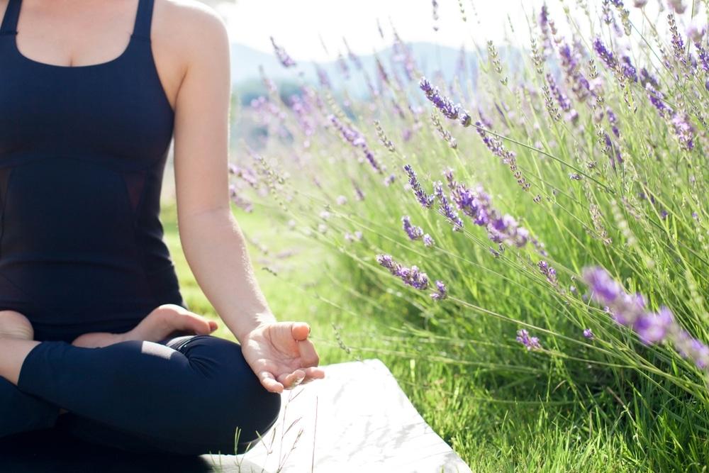 yoga luberon lavande provence