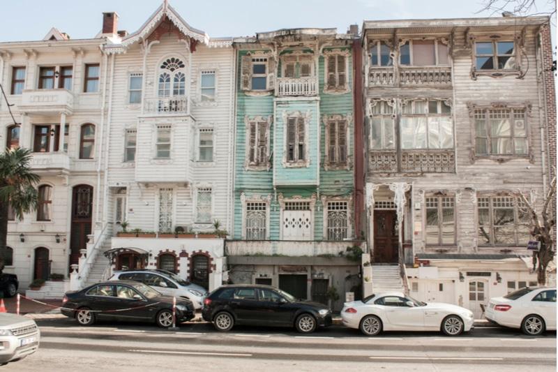 Maisons à Arnavutköy, Turquie