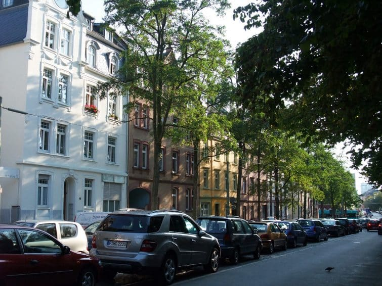 Rue à Bornheim, Francfort