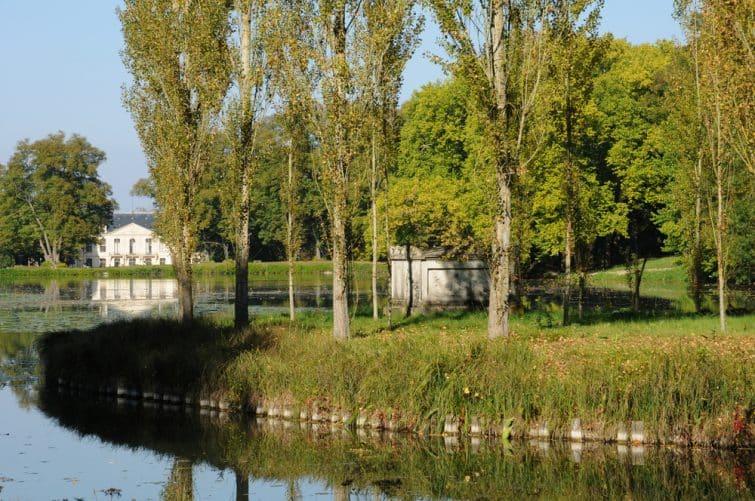 Parc  Jean-Jacques Rousseau, Ermenonville