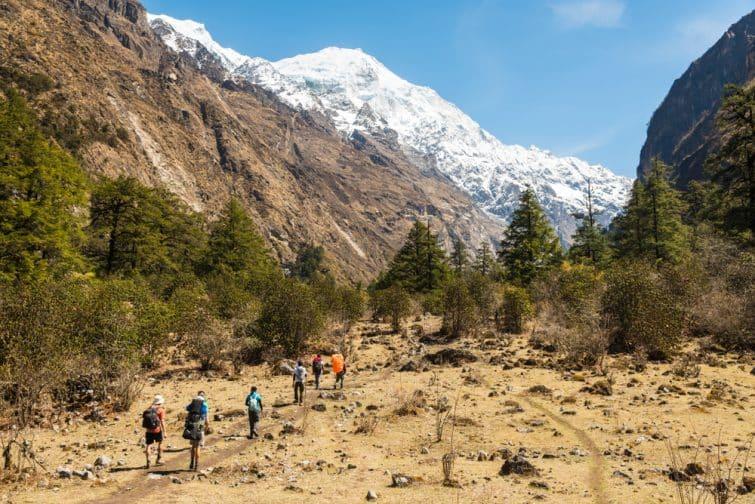 Langtang trek népal