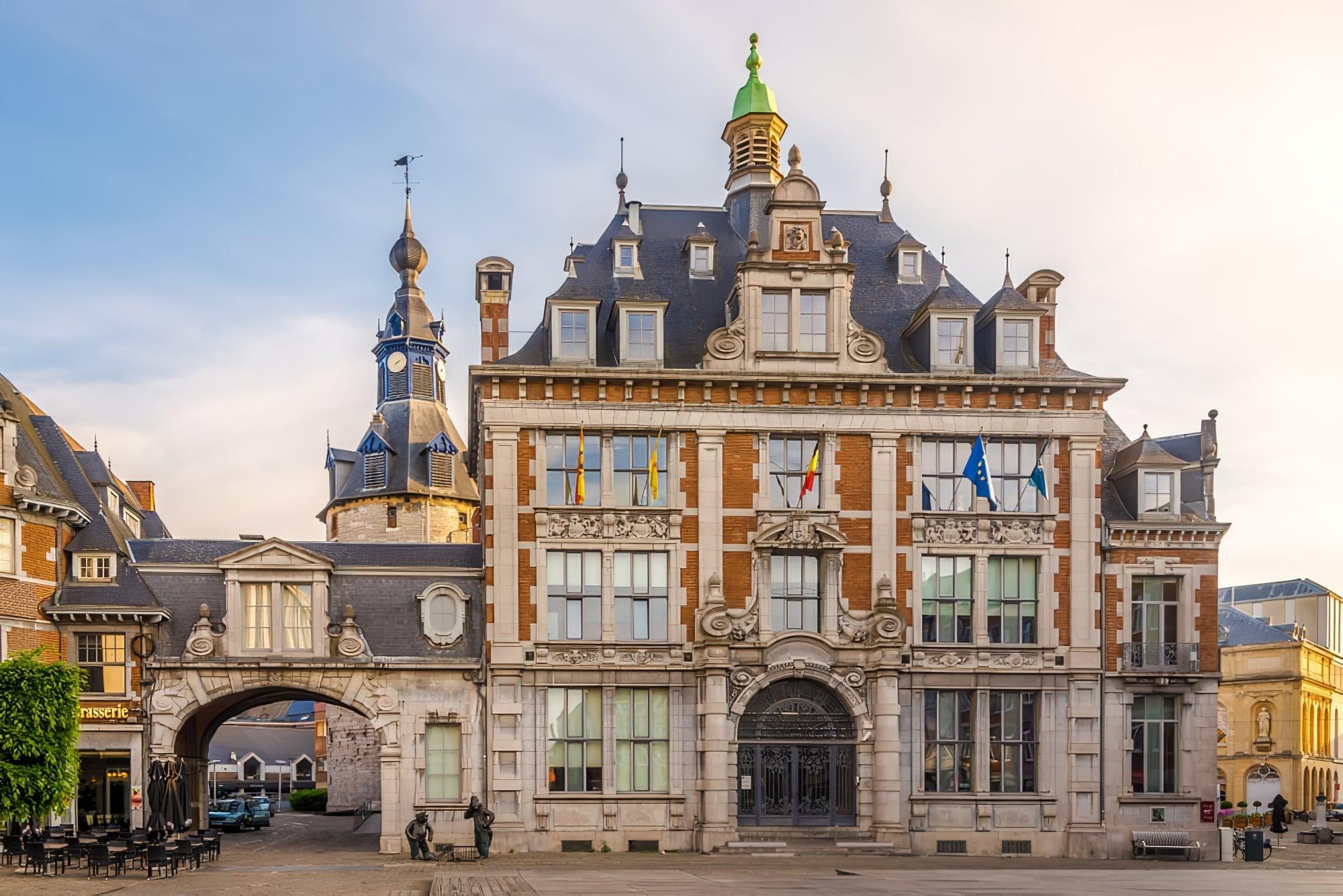 Monument boursier, Namur, Belgique