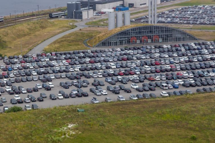 Parking aéroport copenhague