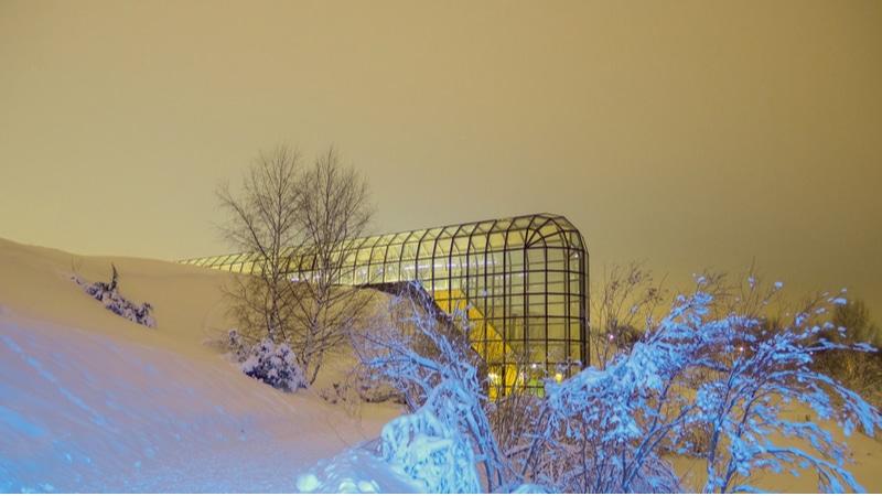 Neige et lumière, Arkitkum Museum, Finlande