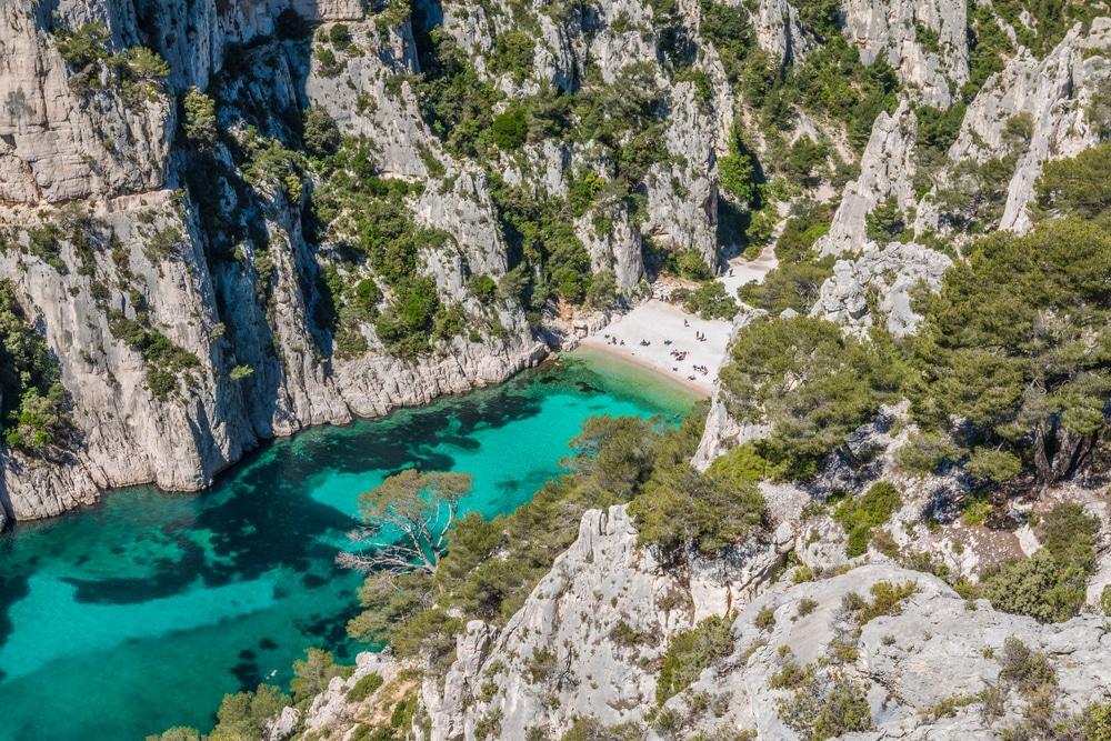 Calanque d'en Vau, Marseille Cassis