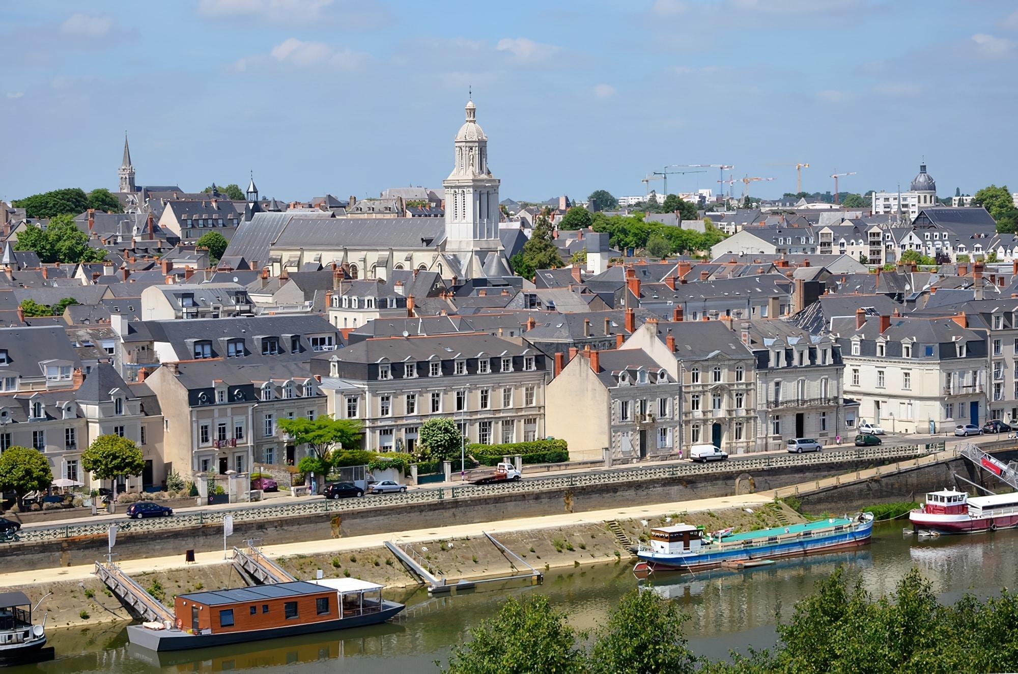 Vue sur Angers