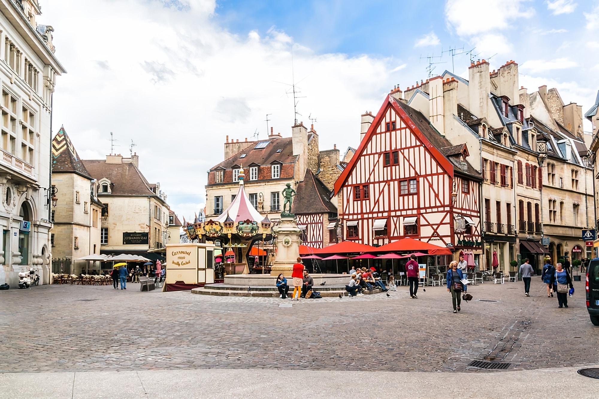 Week-end autour de Lyon : Centre ville de Dijon