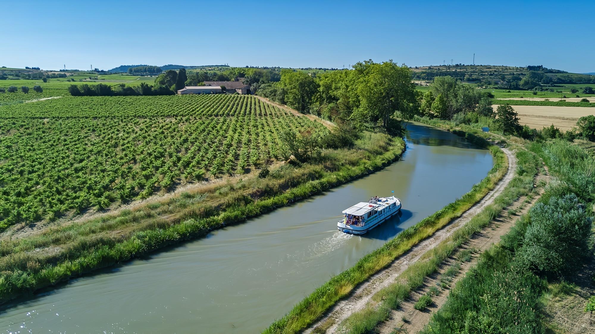 Canal du Midi en camping-car