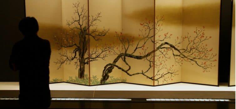 Oeuvre en papier, Musée national de Tokyo