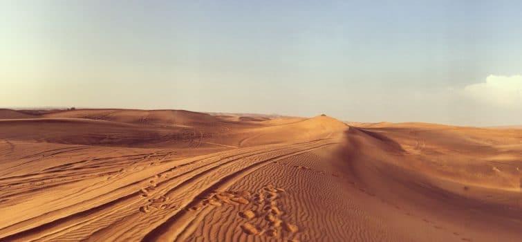 Histoire du Désert de Dubaï