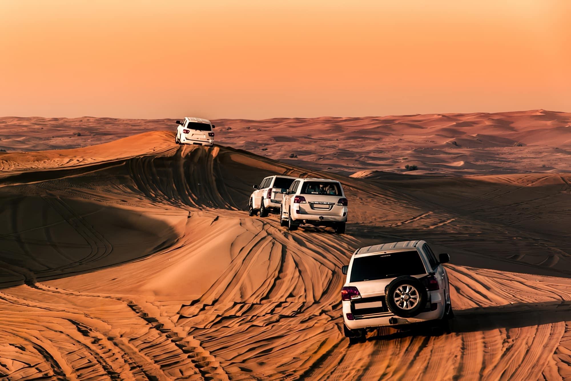 4x4 dans le Désert de Dubaï