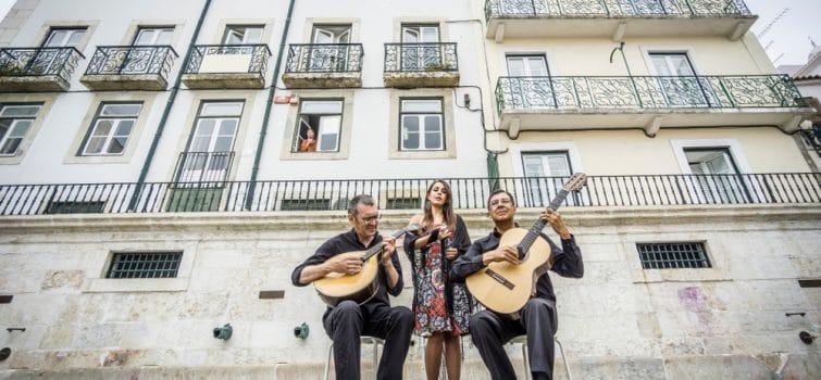 Groupe de fado à Lisbonne
