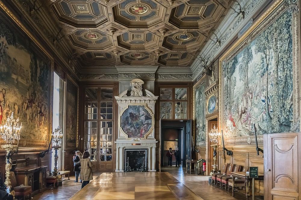 Intérieur du château de Chantilly