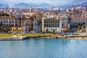 Port de Palerme, Sicile