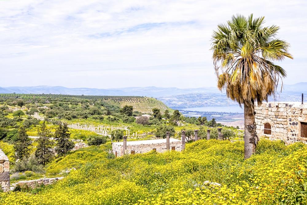 Ruines à Gadara, Jordanie