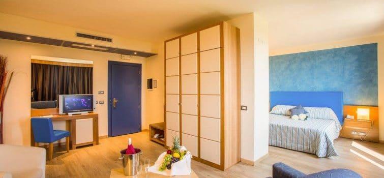 Chambre d'hôtel près de l'aéroport de Pise