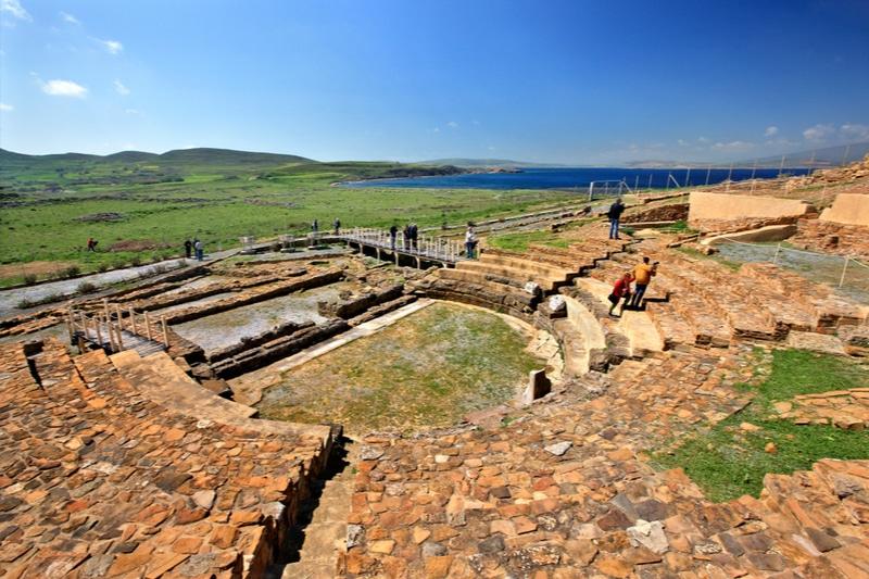 Ancien théâtre romain, Hephaestia, Lemnos