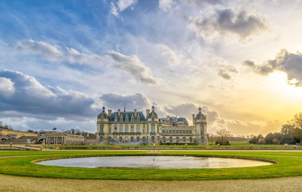 Histoire du château de Chantilly