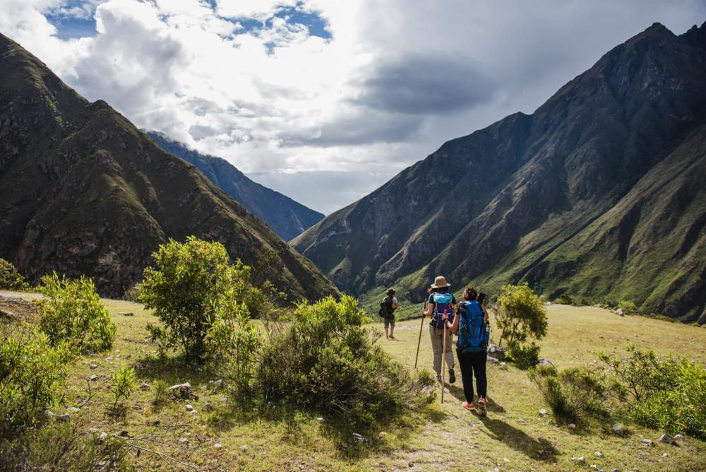Inca Trail, randonneurs au Pérou