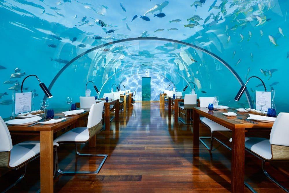 Restaurant Ithaa Undersea, Maldives
