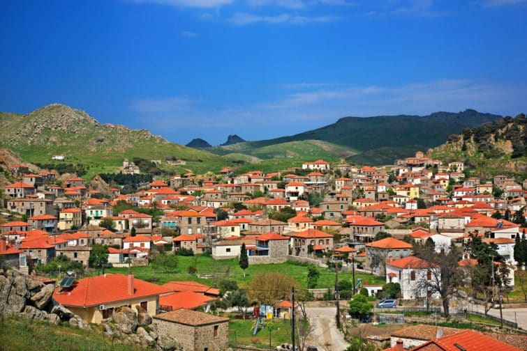 Village de Kontias, Lemnos