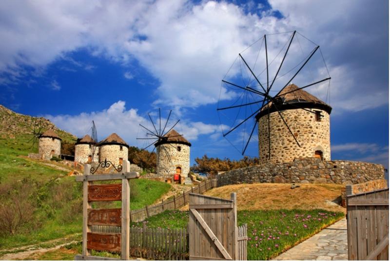 Moulins à Kontias, Lemnos