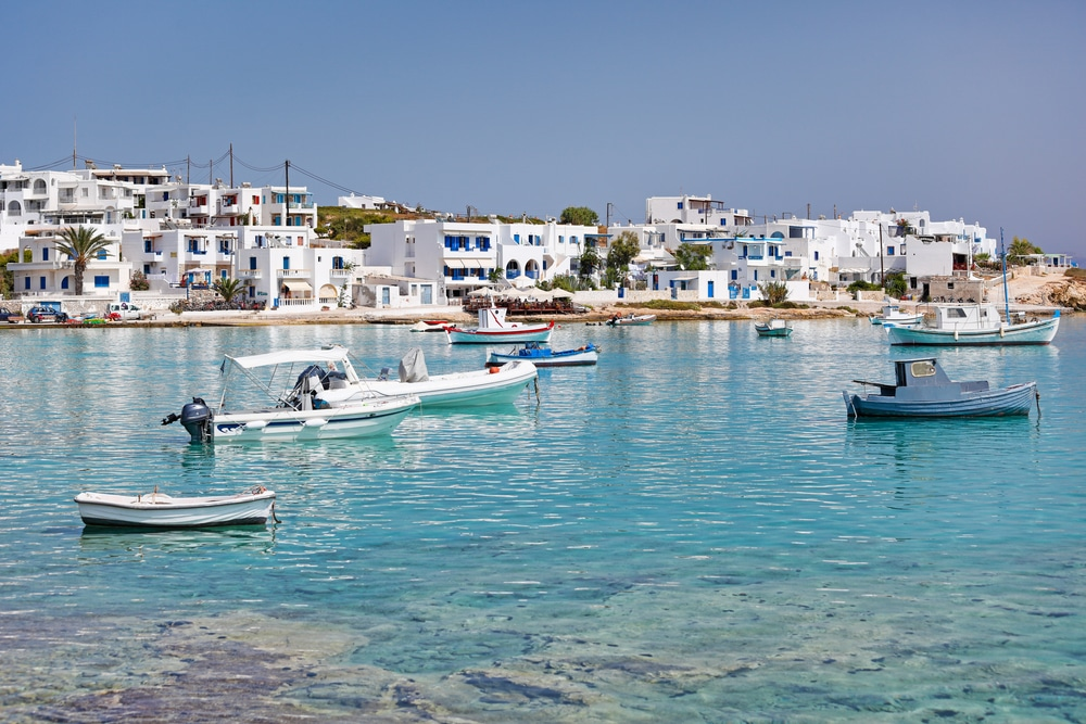 Port de Koufonissi, Cyclades
