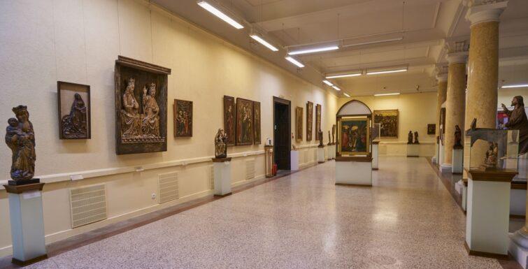 Intérieur du musée national de Poznan