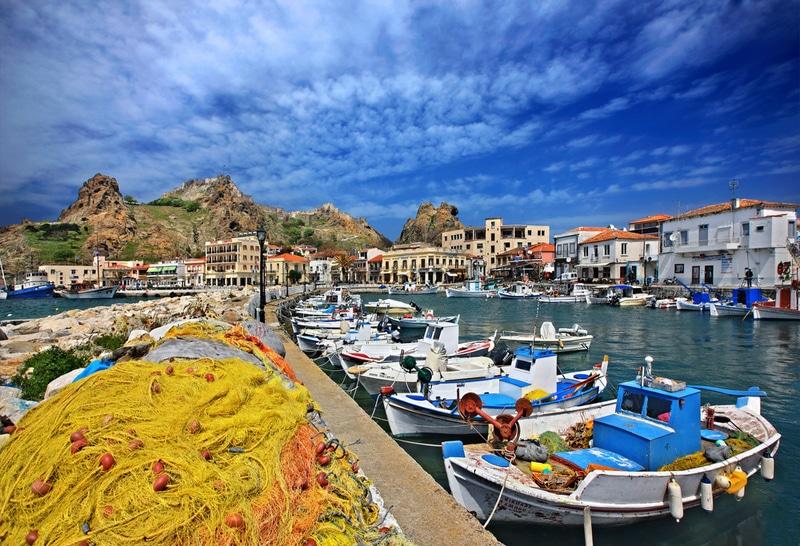 Port de Myrina, Lemnos