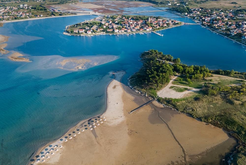 Lagon de Nin, Croatie