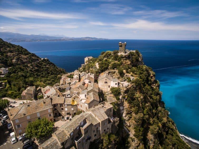 Visiter Haute-Corse Village de Nonza, Corse